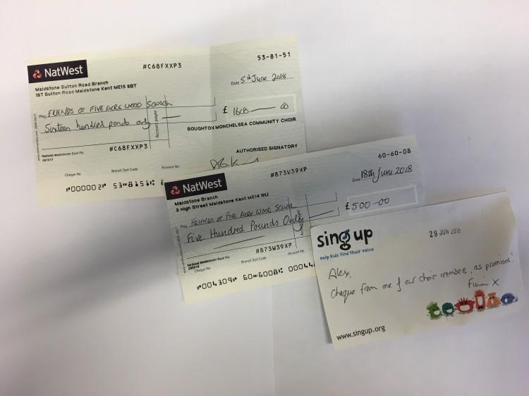BMCC cheque