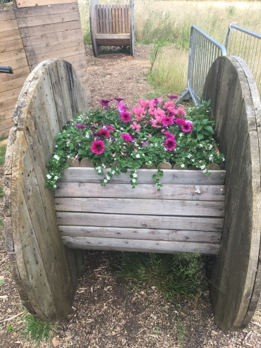 cable reel planter - Copy